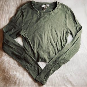 Olive green long sleeve